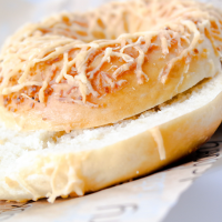 Asiago Bagel
