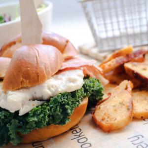 Chicken Bacon Ranch Brioche Sandwich