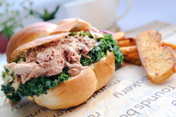 BBQ Pork Brioche Sandwich