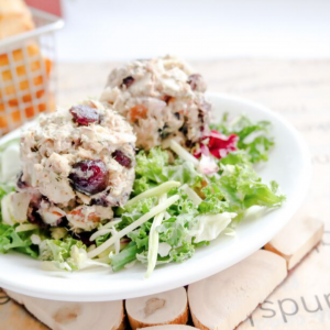 Cranberry Almond Tuna Salad