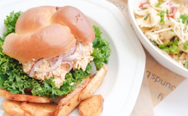Buffalo Chicken Brioche Sandwich