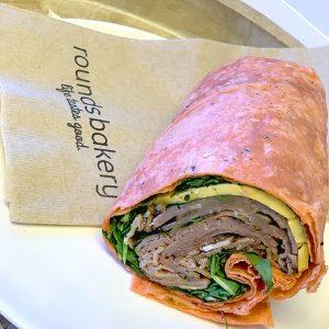 Roast Beef Cheddar Wrap